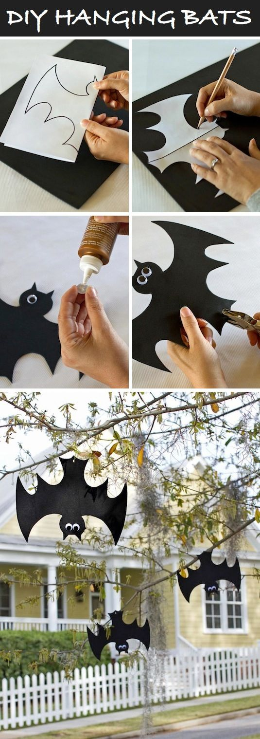 16-easy-but-awesome-homemade-halloween-decorations-hanging-bats-1