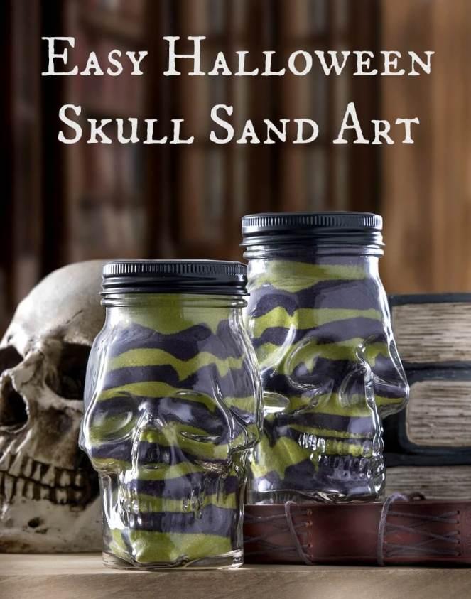easy-halloween-skull-sand-art