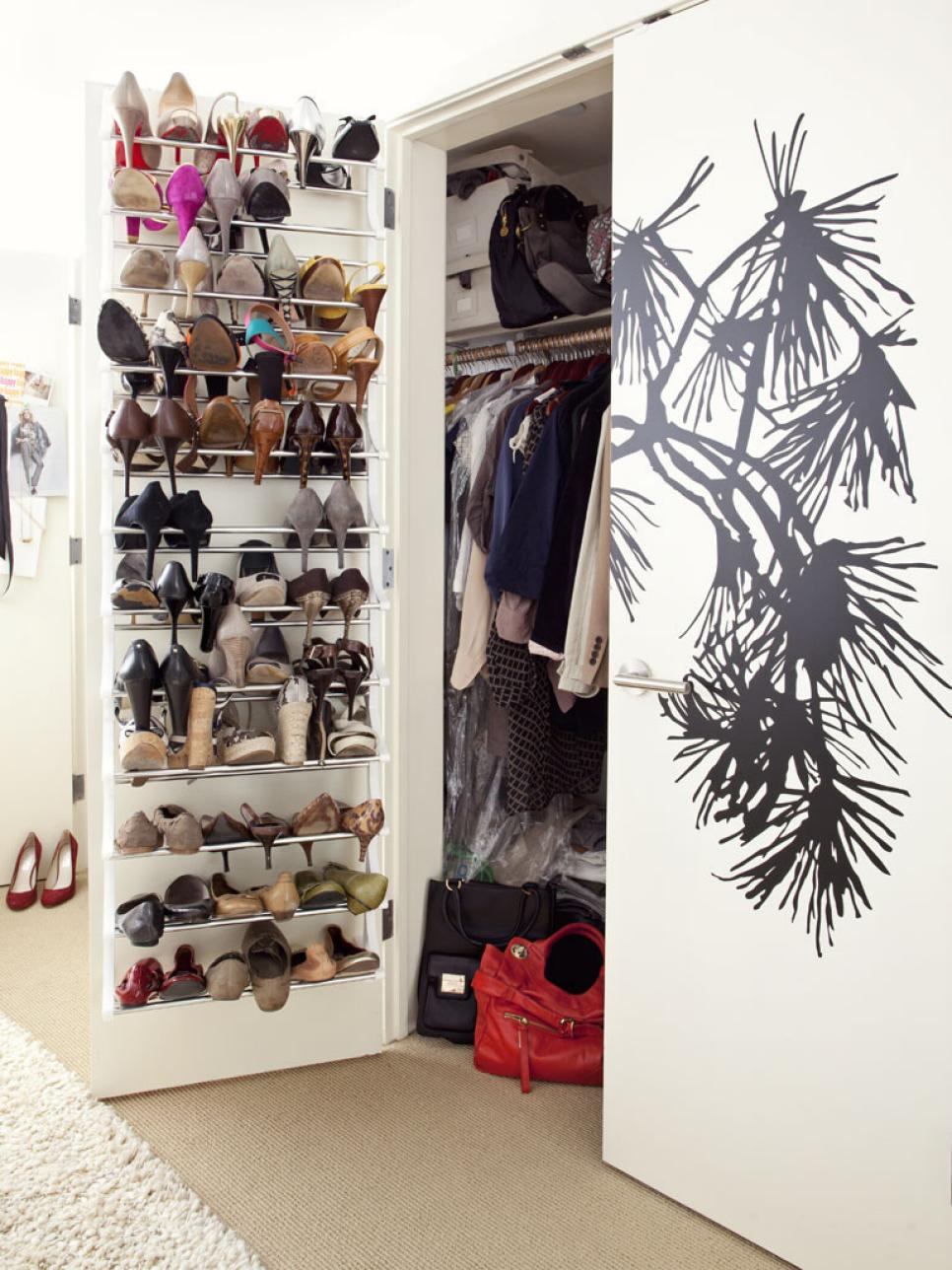 shoe tips storage and closet interior hgtv organization doors remodel options with pictures ideas