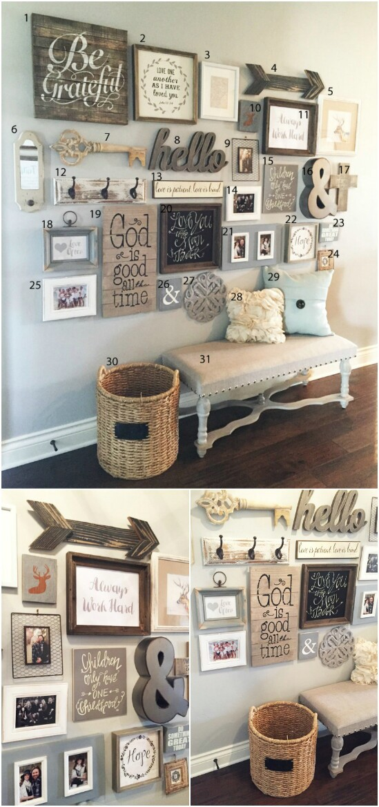 1-gallery-wall-decor-diyncraftscom-farmhouse-furniture-collection-1