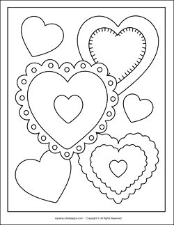 heart-collage-coloring-page