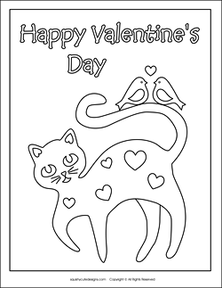 valentine-cat-coloring-page