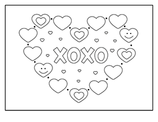 xoxo-heart-coloring-page-1
