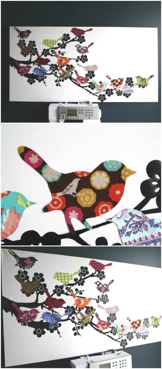 13-wall-art-baby-clothes-projects-diyncrafts