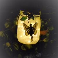 Garden Fairy Jar