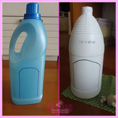 Reciclando-embalagens-de-material-de-limpeza