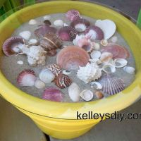 Sea Shell Outdoor Table
