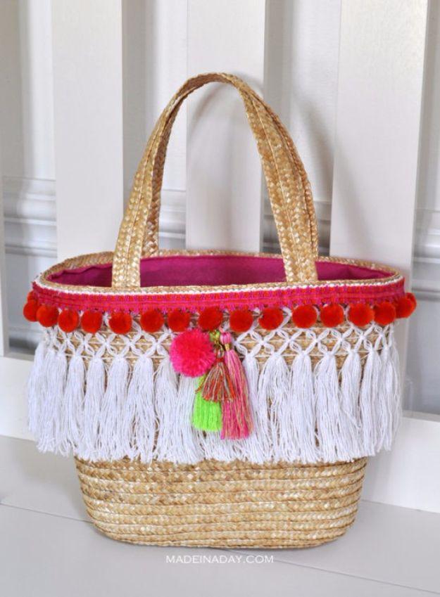 DIY-Pom-Tassel-Basket-Totes