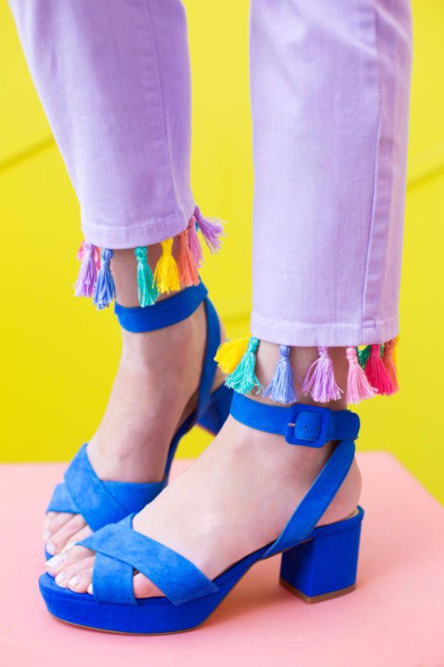 DIY-Tassel-Jeans