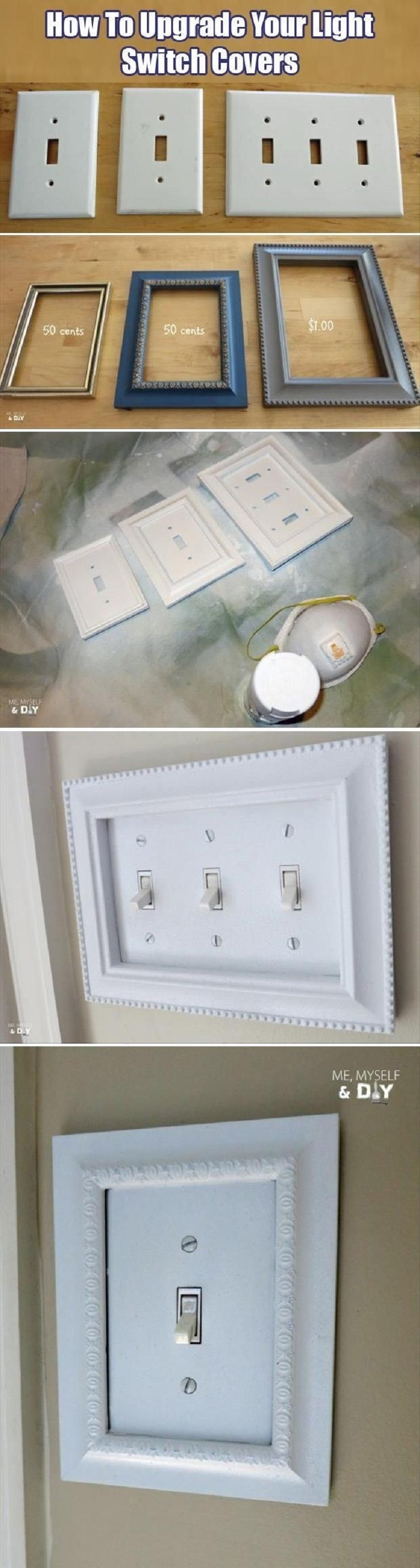 inexpensive-craft-store-frames-fit-perfectly-around-your-light-switch-covers-14-simple-diy-hacks-to-make-your-home-look-more-expensive-gleamitup.jpg