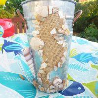 Seahorse Bucket