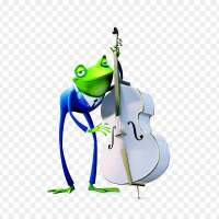 Frogs Strumming Bass