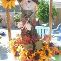 Adorable Scarecrow Centerpiece