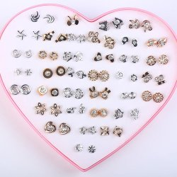 36 pairs earrings