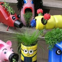 Cute Upcycled Planters With Kids In Mind