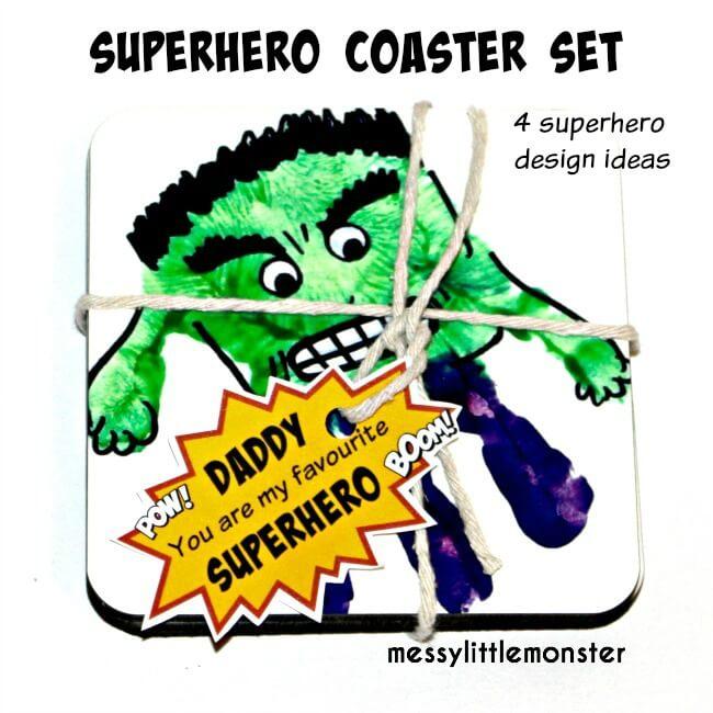 Superhero-Coasters-for-Dad