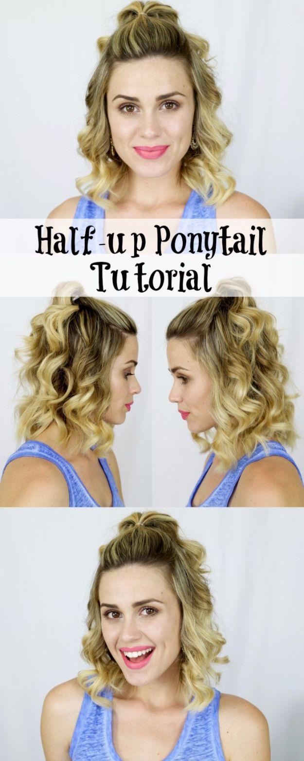 Half-up-Ponytail