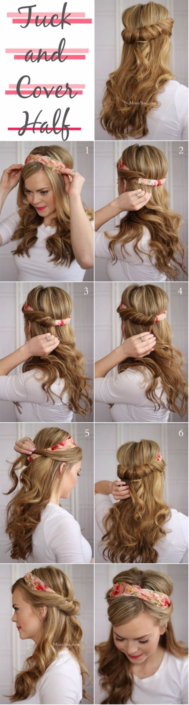 Tuck-and-Cover-Half-Up-Hairstyle