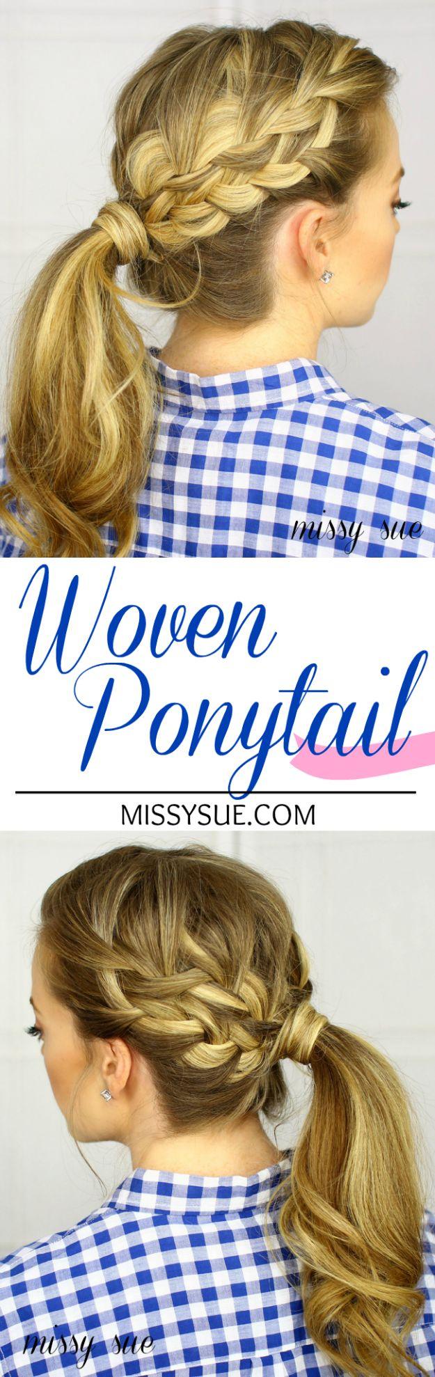 Woven-Ponytail-Tutorial